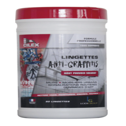 CILEX LINGETTES ANTI-GRAFFITIS