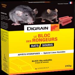 DIGRAIN LE BLOC DES RONGEURS